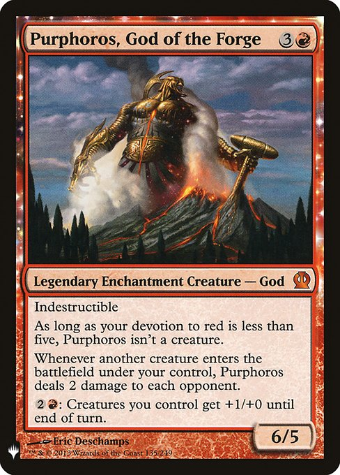 (MB1-MR)Purphoros, God of the Forge/鍛冶の神、パーフォロス