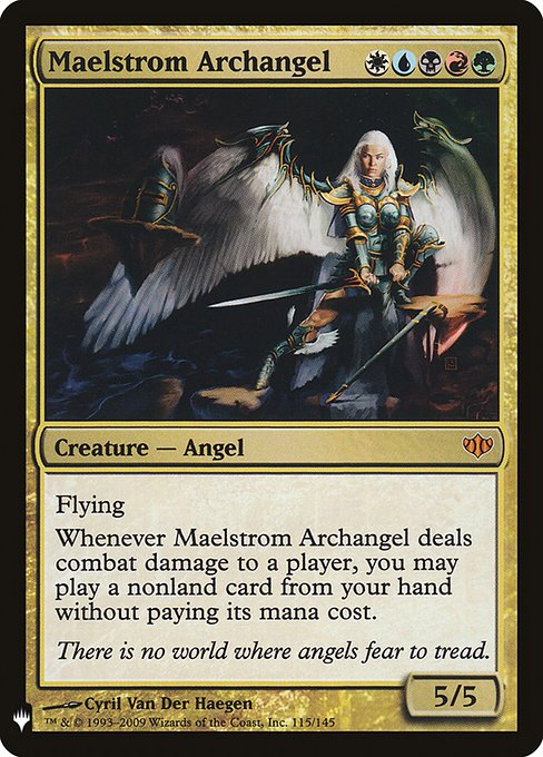 (MB1-MM)Maelstrom Archangel/大渦の大天使
