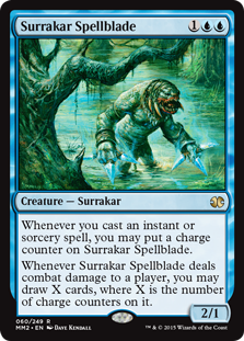 (MM2-RU)Surrakar Spellblade/サラカーの呪文刃