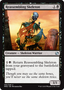 (MM2-UB)Reassembling Skeleton/組み直しの骸骨
