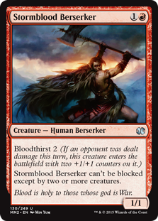 (MM2-UR)Stormblood Berserker/嵐血の狂戦士