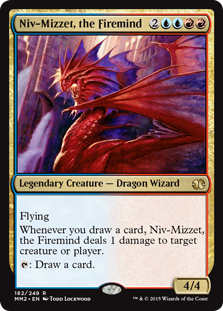 (MM2-RM)Niv-Mizzet, the Firemind/火想者ニヴ=ミゼット