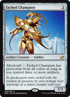 (MM2-RA)Etched Champion/刻まれた勇者