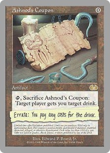 (UGL-RA)Ashnod's Coupon