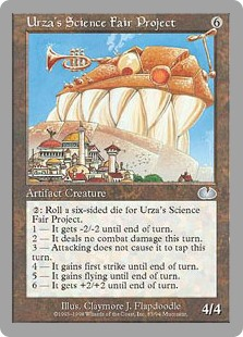 (UGL-UA)Urza's Science Fair Project