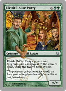 (UNH-UG)Elvish House Party