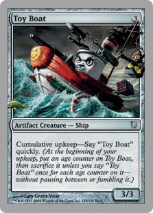 (UNH-UA)Toy Boat