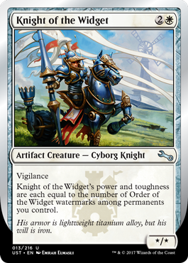(UST-UW)Knight of the Widget
