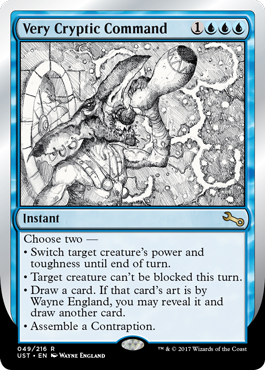 (UST-RU)Very Cryptic Command (A)