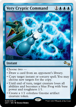 (UST-RU)Very Cryptic Command (C)