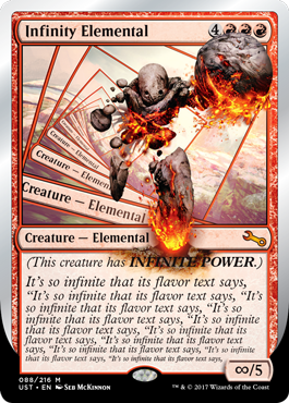 (UST-MR)Infinity Elemental