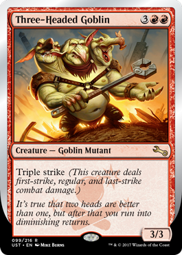 (UST-RR)Three-Headed Goblin