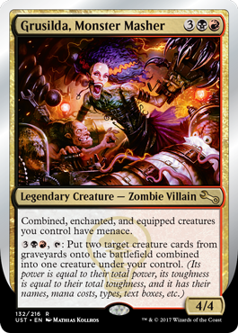 (UST-RM)Grusilda, Monster Masher