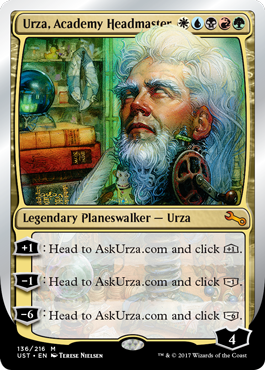 (UST-MM)Urza, Academy Headmaster