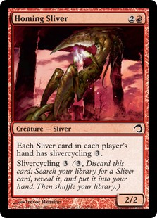 (H09-CR)Homing Sliver/誘導スリヴァー