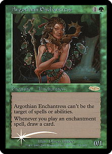 (Promo-Judge)Argothian Enchantress/アルゴスの女魔術師