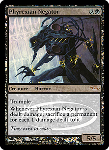 (Promo-Judge)Phyrexian Negator/ファイレクシアの抹殺者