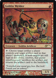 (Promo-Judge)Goblin Welder/ゴブリンの溶接工