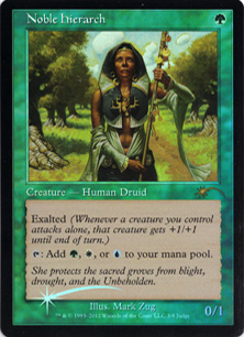 (Promo-Judge)Noble Hierarch/貴族の教主