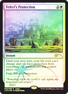 (Promo-Judge)Teferi's Protection/テフェリーの防御