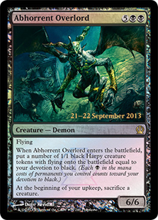 (Promo-Prerelease)Abhorrent Overlord/忌まわしき首領
