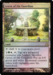 (Promo-Prerelease)Grove of the Guardian/守護者の木立ち