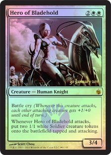 (Promo-Prerelease)Hero of Bladehold/刃砦の英雄