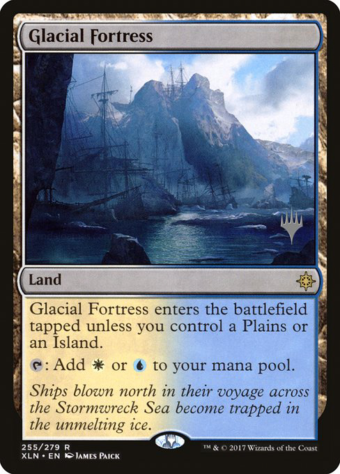 (Promo_Pack-RL)Glacial Fortress/氷河の城砦