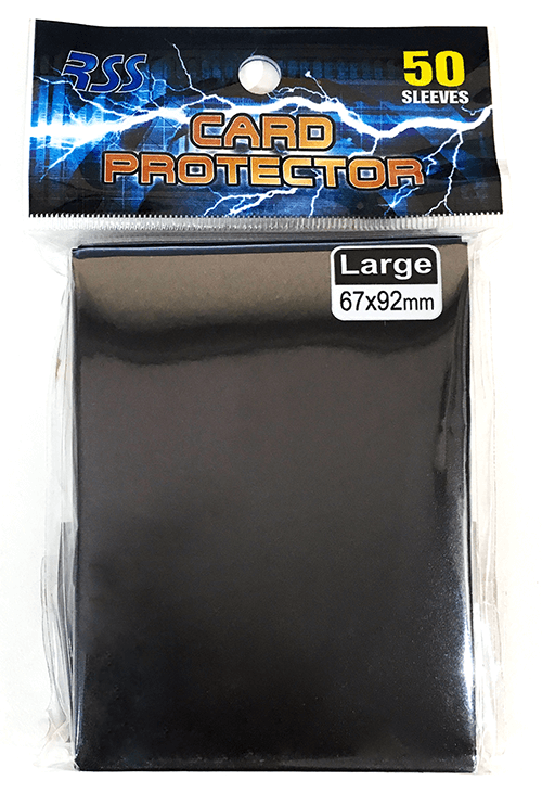 RSS Card Protector/カードプロテクター(黒) 50枚入り