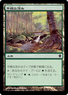 (C13-CL)Tranquil Thicket/平穏な茂み